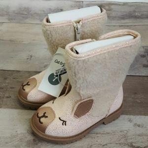 Cat & Jack American Girls Hilda Shearling Boots